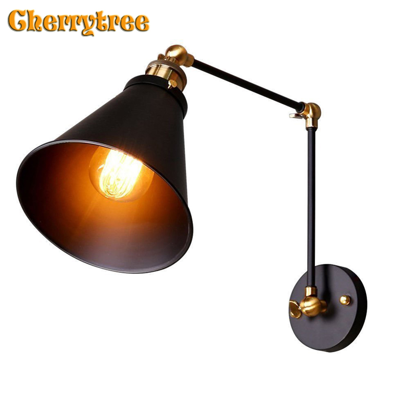 Wall Lamp Vintage wall light Industrial Retro Loft home Decorative Living Room Bedroom wandlamp light fixture corridor Art DecoWall Lamp Vintage wall light Industrial Retro Loft home Decorative Living Room Bedroom wandlamp light fixture corridor Art Deco