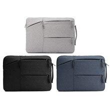 Yunai impermeable bolsa de ordenador portátil funda para macbook 15 pulgadas manga de tela oxford bolsa de ordenador portátil estuche protector portátil bolsa de manejar