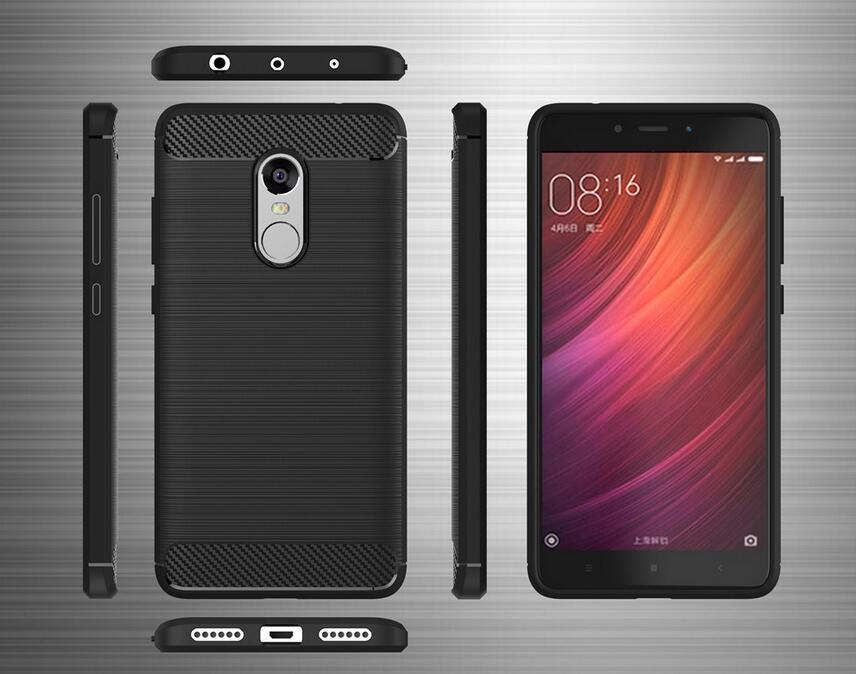 Newest for xiaomi redmi note 4x case hybrid super armor carbon fiber newest for xiaomi redmi note 4x case hybrid super armor carbon fiber texture brushed silicone redmi note 4x in half wrapped case from cellphones stopboris Image collections