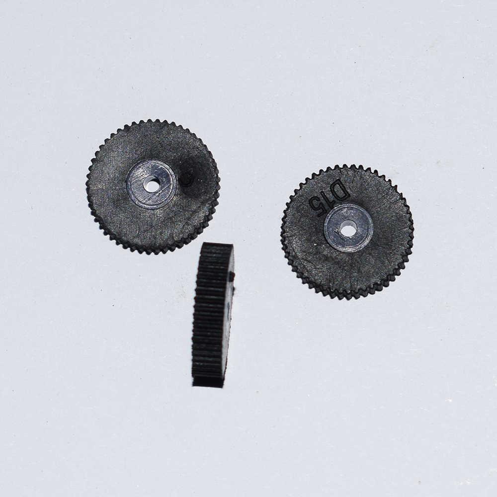 10/100/1000 pcs 2x15mm streep vliegtuigen wielen/rc auto rubber wielen/DIY speelgoed deel/Technologie model onderdelen/rc auto robot/baby speelgoed H15