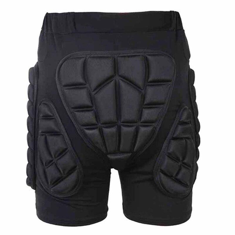 Hommes Confortable Rembourré Hanche Pantalons De Protection Ski Snowboard Anti-Goutte Shorts Protector Vitesse