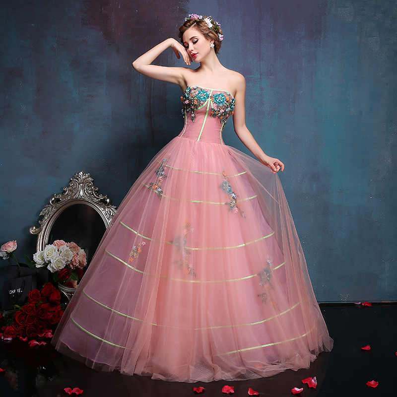 Colour Tulle Wedding Dresses Wedding Gowns Retro Wedding Dresses ...
