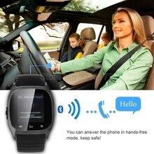 Rwatch M26 Smart Bluetooth Uhr Smartwatch M26 mit Led-anzeige Musik-player Schrittzähler für Android IOS Handy
