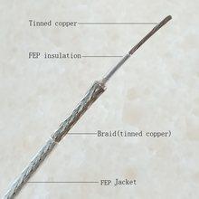 0.3mm2 alta qualidade led fep fio, cabo de led, fio elétrico estanhado cobre trançado cabo pandent iluminação acessórios