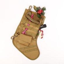Горячая висячая тактическая Молл Рождественский носок-сумка свалка падение мешок Хранение инструментов сумка Военная Боевая Охота журнал сумки