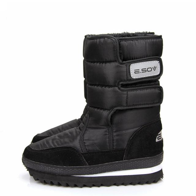 Weise envío de las mujeres zapatos antideslizantes nieve botas impermeables botas de nieve botas de mediano de la pierna botas de las mujeres