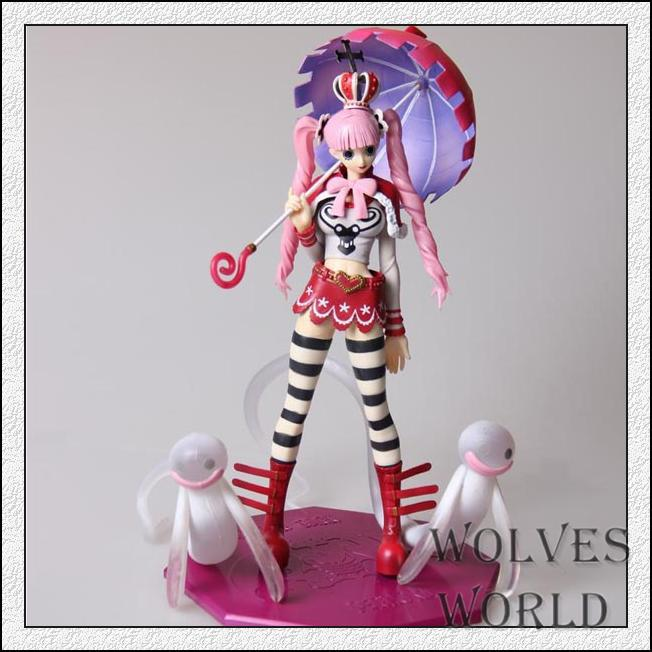Anime One Piece POP 24CM The Princess Mononoke Perona Boxed PVC Action Figure Brinquedos Colletiion Model Toy free shipping one piece perona pink cosplay wig w s ponytail
