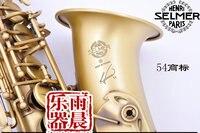 Antique Copper Simulation SAS 54 Selmer Alto Eb Sax Scrub Scrub Down E Tenor Saxophone Alto