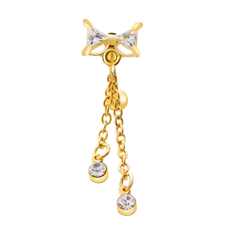 HTB19BN6OVXXXXbyXFXXq6xXFXXX4 Dainty Stainless Steel  Rhinestone Crystal Dangling Ribbon Bow Navel Ring For Women
