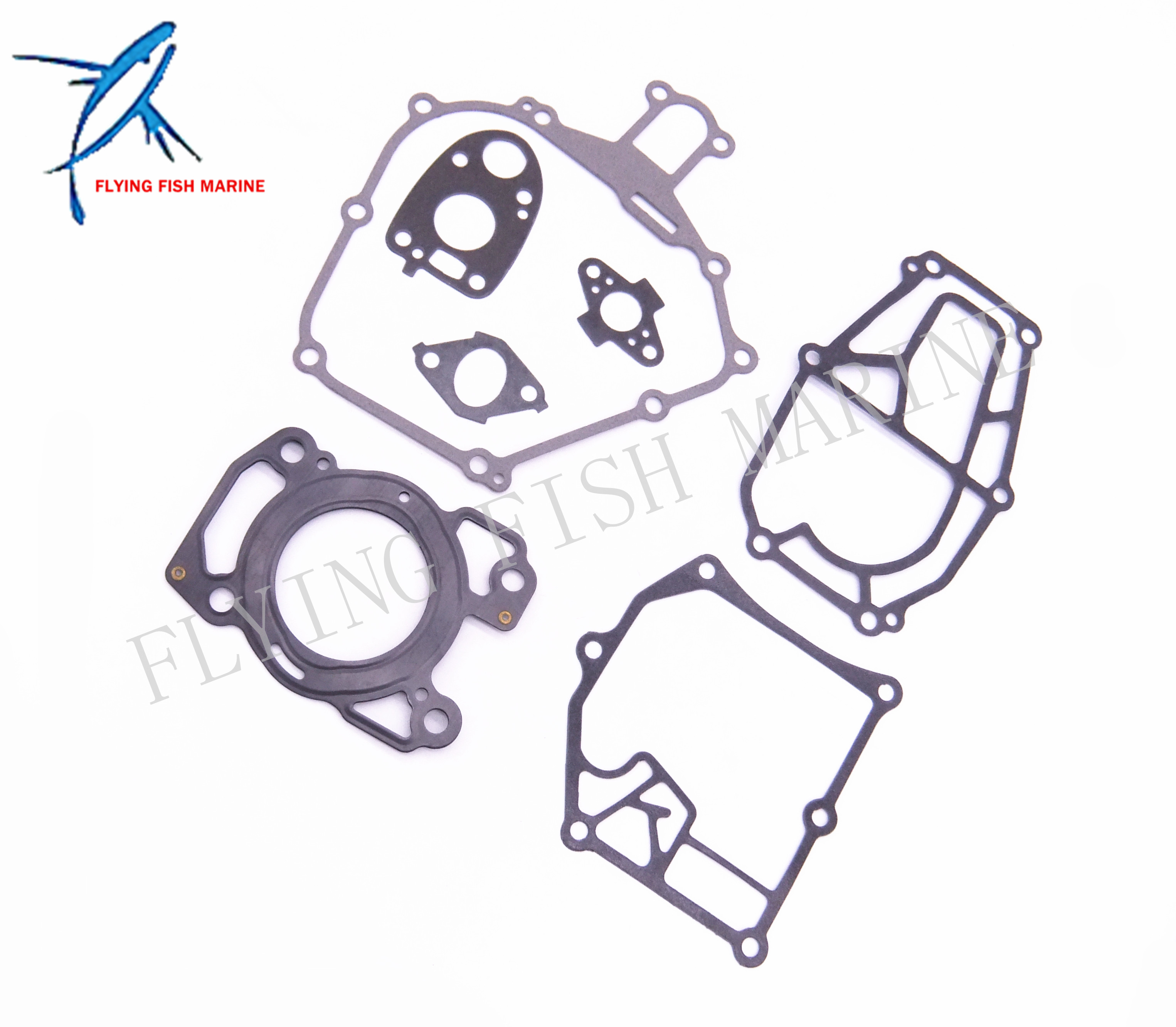 Complete Power Head Seal Gasket Kit Outboard Engine Boat Motor for Yamaha F2.5 Free Shipping