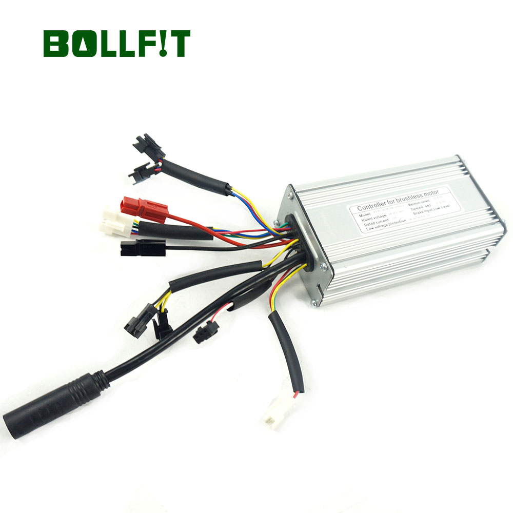 BOLLFIT ebike Controller36 48V 22A 9 Mosfets Electric Bicycle KT kunteng 500W MotorMotor Waterproof Plug