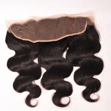 8A Brazilian Virgin Hair Body Wave Lace Frontal Closure 1 pc 13×4 Ear to Ear Lace Frontal Weave 100 Body Wave Lace Frontal