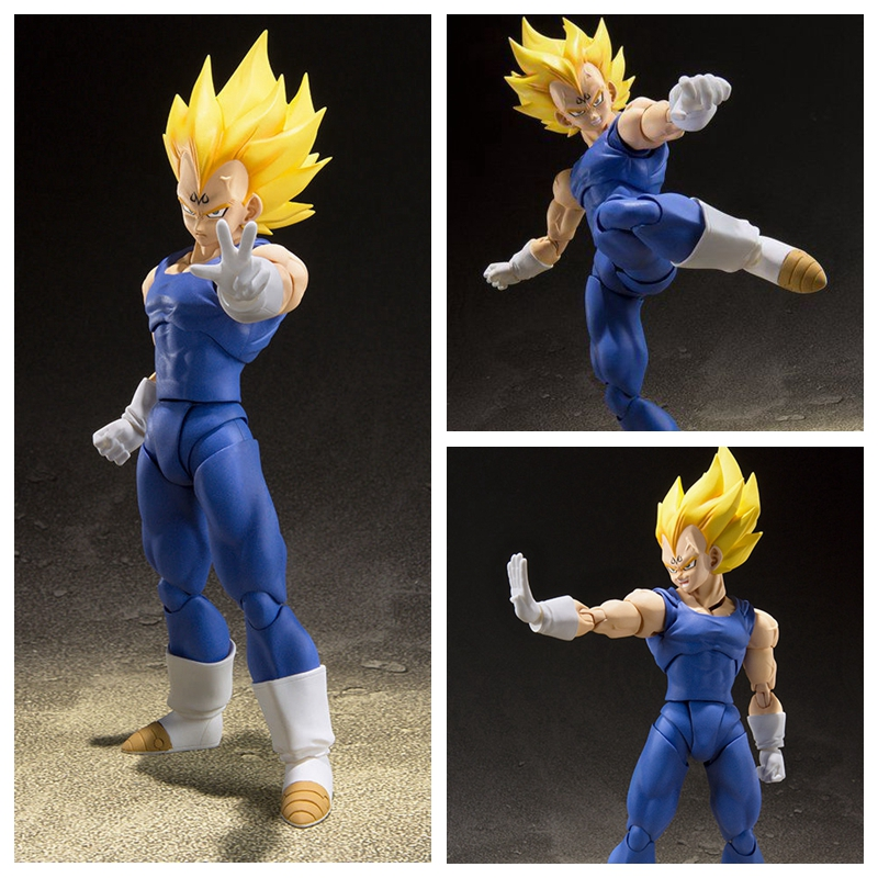 Toys & Hobbies Dragon Ball Z Super Saiyan Majin Vegeta And Trunks Ssj Action Figure Toy Doll Brinquedos Figurals Collection Dbz Model Gift
