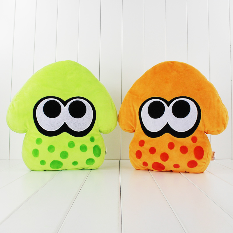 32cm 2styles Squid Inkling Soft Stuffed Plush Toys Squid Pillows Doll For Children Best Gift