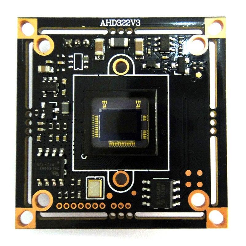 HD 1080 p AHD 1/2. 9 Sony IMX322 + NVP2441 Starlight Faible éclairage CCTV caméra embarquée module PCB conseil