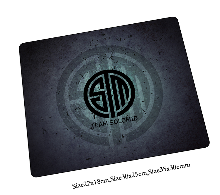Team Solo Mid mouse pad cheapest mousepads best gaming mouse pad gamer pad mouse HD print cool personalized mouse pads play mats