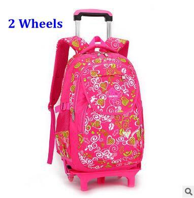332bf0b77cfc Детский Школьный рюкзак прокатки детей дорожные сумки тележки школьный  рюкзак для мальчиков колесных рюкзак дети сумка тележка на колесах