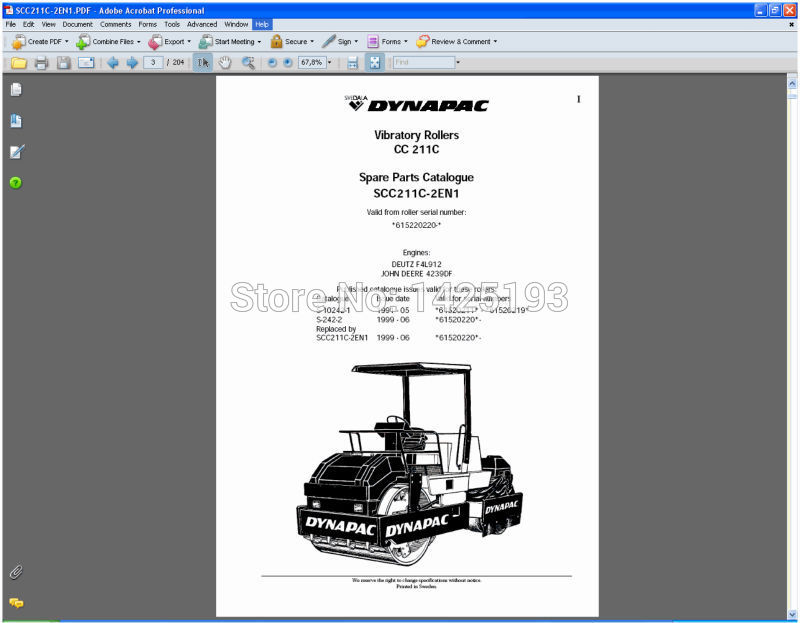 DYNAPAC Spare parts catalogues and service manuals aliexpress com buy dynapac spare parts catalogues and service dynapac cc122 wiring diagram at mifinder.co