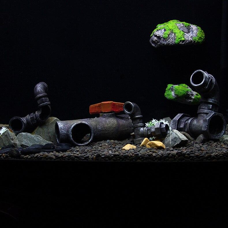 Novi dizajn Akvarij Umjetna smola kanalizacije dekoracija Akvarij - Kućni ljubimci - Foto 4