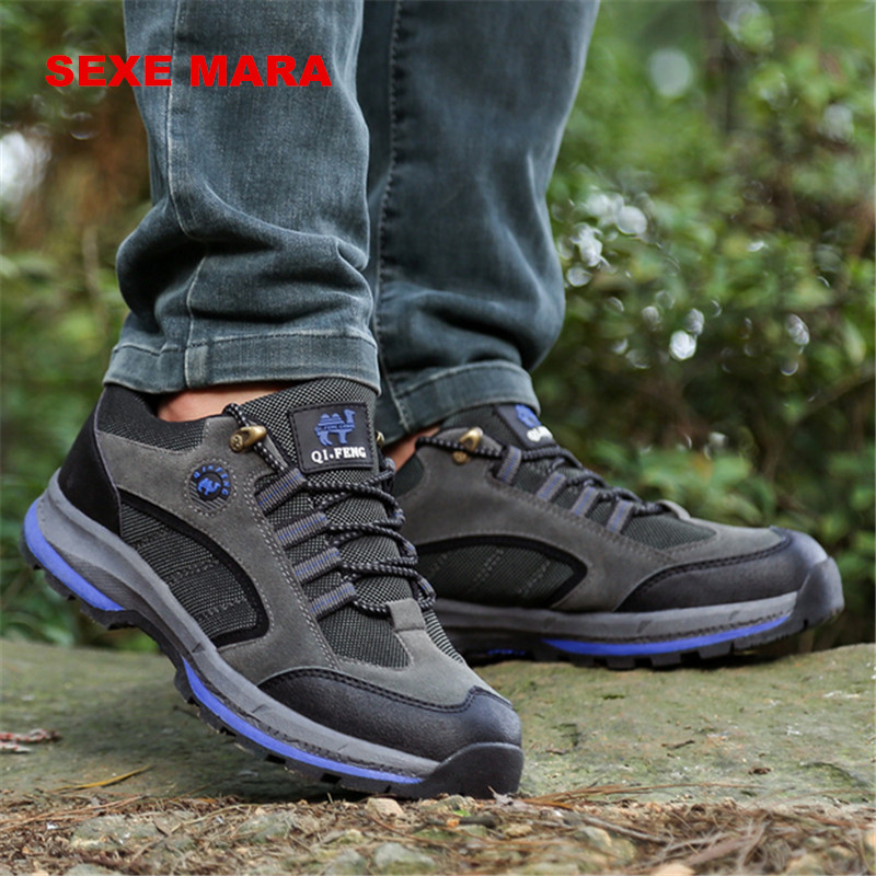 2017 high quality Size 36-44 Outdoor Sport Shoes men Sneakers men shoes Running shoes for men Brand non-slip Off-road Walking 75