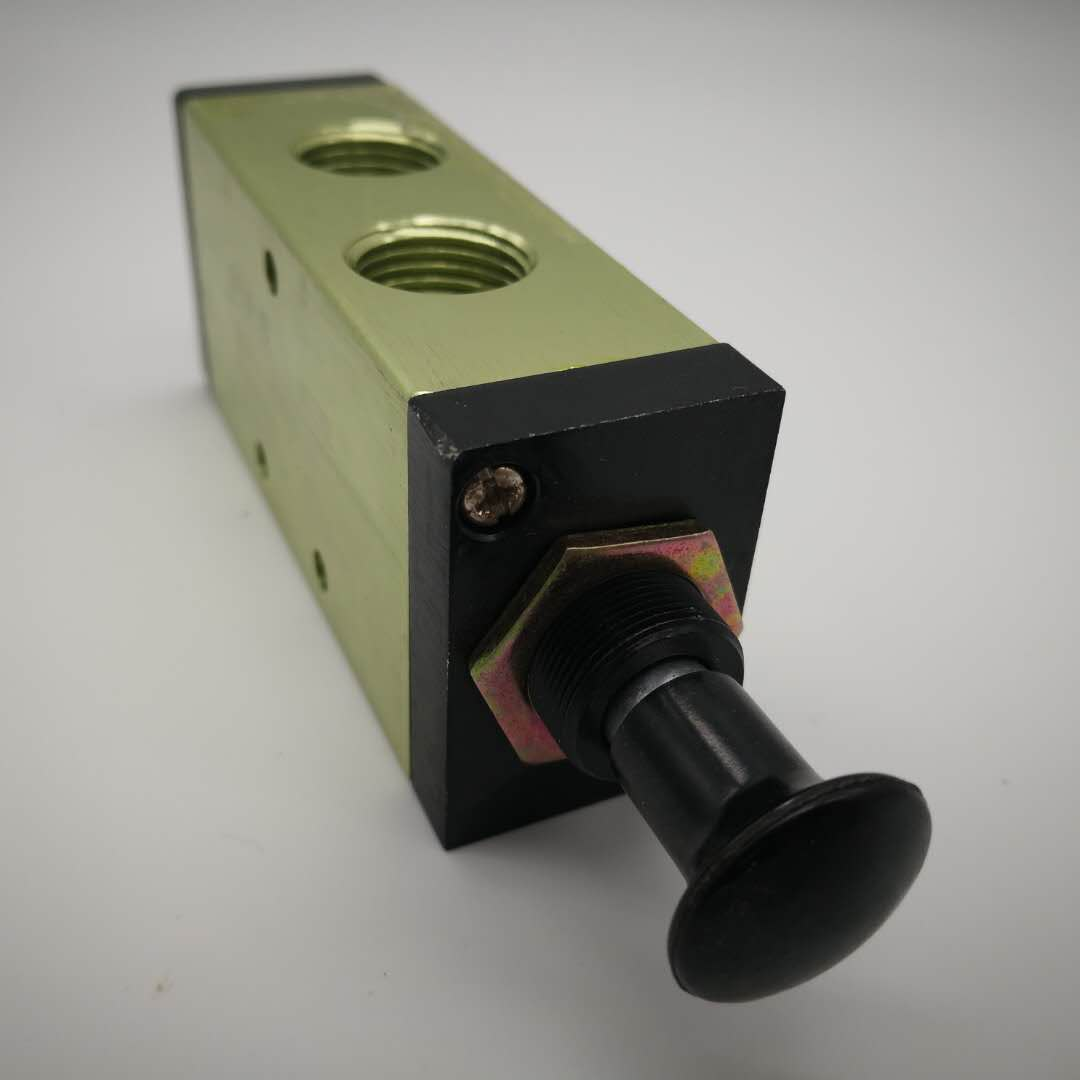 4in 5 voies vanne pneumatique pneumatique 2 positions 5 voies pour /équipement m/écanique Entr/ée//sortie d/équipement pneumatique PT1