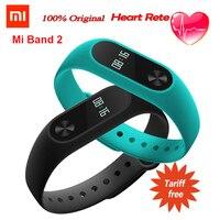 Original Xiaomi Mi Band 2 Miband2 Wristband Bracelet With Smart Heart Rate Band2 Monitor Fitness Tracker