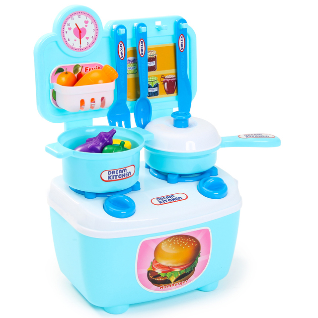 Kids Toy Kitchen Set Educational Toys For Children Parents Intimate