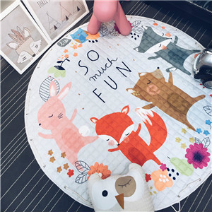 Svetanya Star Toys Storage Bag Kids Game Mats diameter 59inch baby Crawling multifunctional round blanket Play Floor Rug/Mat
