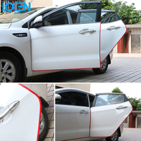 5 6M Car Sticker Door Safety Protector Anti Collision Rubbing Strip Car Styling For Toyota Vw