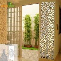 Wall Qrt Waist Decoration Backdrop Mirror Wall Stickers Bedroom Wall Decor Living Room Acrylic Mirrored Decorative Sticker