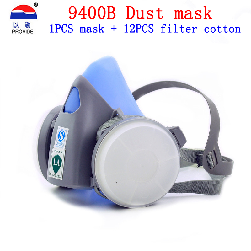 PROVIDE 9400B respirator dust mask Brand protection Genuine respirator mask against dust particulates Welding dust dust mask