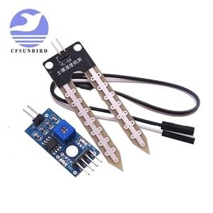 Image 1 - 100 stks Smart Elektronica Bodemvocht Hygrometer Detectie Vochtigheid Sensor Module Voor arduino Development Board DIY Robot Smart