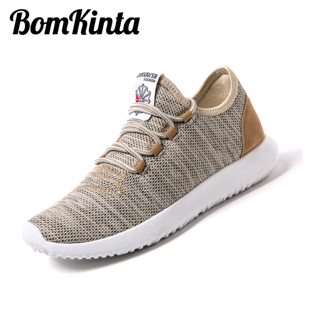 BomKinta Brand Men Shoes Casual Tenis Mesh Shoes Men Breathable Unisex  Footwear Patchwork Mens Sneakers Shoes f91145b4fdcf