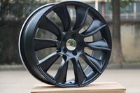 Four pieces 20x8.5 et 35 5x114.3 OEM Satin Black Alloy Wheel Rims W409 For Your Car