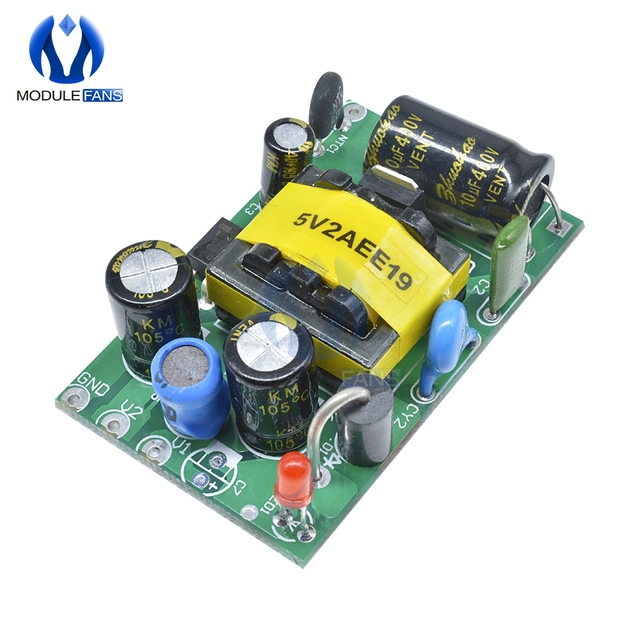 DC 5V 1.5A 7.5W Switch Power Module 220V AC-DC Step Down Isolated Industrial Board Wide Voltage