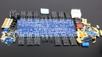 Kit + transistor para alta fidelidade l10 placa amplificador de potência estéreo dupla 2.0 canais diy|Amplificador| |  -