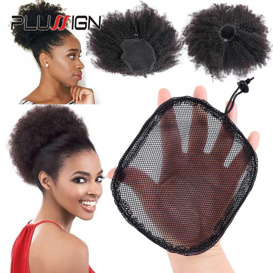 5 шт./партия, черный цвет, Высококачественная сеть для волос, для изготовления конского хвоста и афро-пучка волос, парик, шапки, сетки для волос, оптовая цена