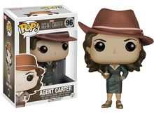 Exclusive Funko pop Official Marvel: Agent Carter – Sepia Tone Vinyl Action Figure Collectible Model Toy with Original Box