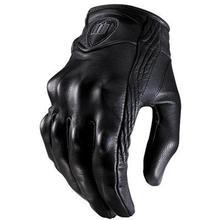2018 Ретро перфорированные кожаные мотоциклетные Прихватки для мангала Велоспорт мото мотоцикл Прихватки мангала Защитное снаряжение для мотопробега перчатк