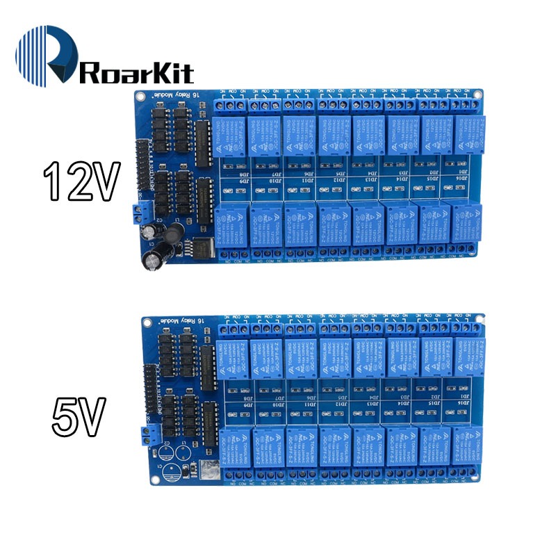 16 Channel 12V Relay Module Interface Board For Arduino PIC ARM DSP