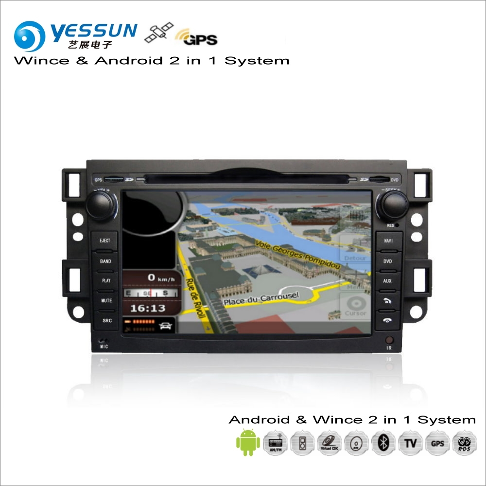 YESSUN For Chevrolet Captiva / Epica 2006~2012 Car Android Multimedia Radio CD DVD Player GPS Map Navigation Audio Video Stereo цена 2017