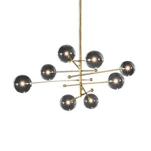 Image 5 - Postmodern LED chandelier ceiling living room hanging lights home fixtures Nordic dining room pendant lamps Glass ball lighting