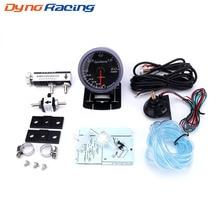 Dynoracing 60 мм автомобилей Turbo Boost gauge 2BAR+ регулируемый Turbo Boost контроллер комплект 1-30 PSI в кабина автомобиля метр