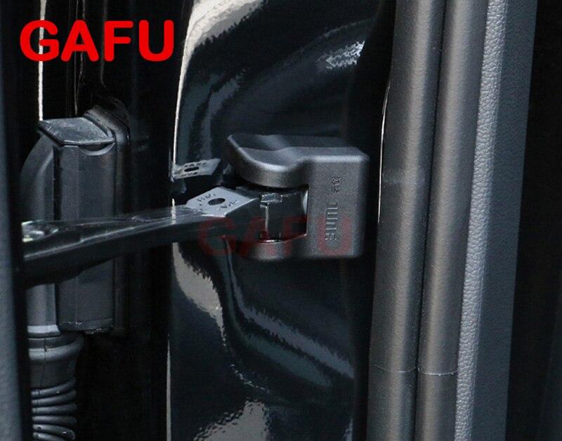 4PCS ABS Door Stop Rust waterproof protector For Chevrolet Equinox 2017 2018