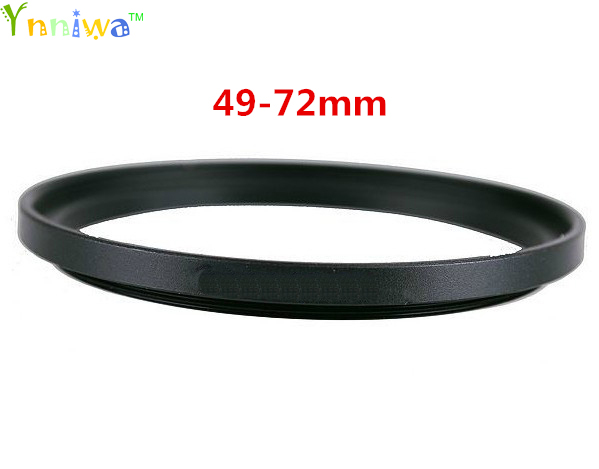 49-72mm Metal Step Up Rings Lens Adapter Filter Set