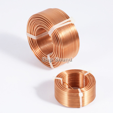 1pcs 1.2mm 0.2mH 1.8mH Speaker Crossover Audio Amplifier Inductor 4N Oxygen Free Copper Wire Coil #Copper