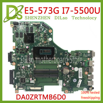 KEFU E5-573G placa base para Acer Aspire E5-573G E5-573 placa base I7-5500U...