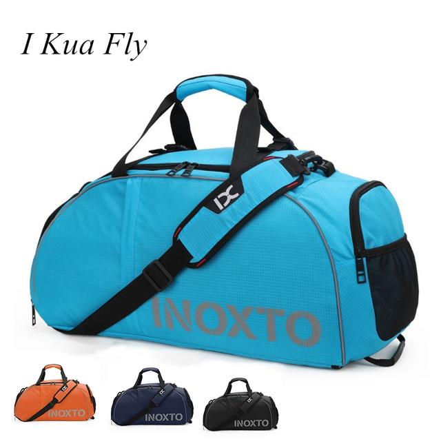 New Men Women Gym Bag Waterproof Nylon Over Size Fitness Outdoor Travel Shoulder Bag Handbag Sport Bag Training 4