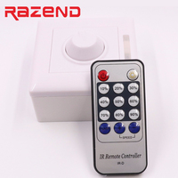 110V 220V SCR Led Dimmer IR Remote Controller Lighting Dimmer Switch For 110v 220v Single Colour