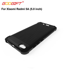 GodGift Soft Cases For Xiaomi Redmi 5A Case Brushed Silicone Shockproof Cover For Xiaomi Redmi 5 A Phone Cases Redmi5 A Cover